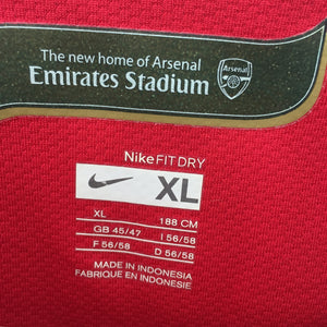 2006 2008 Arsenal home Football Shirt - XL