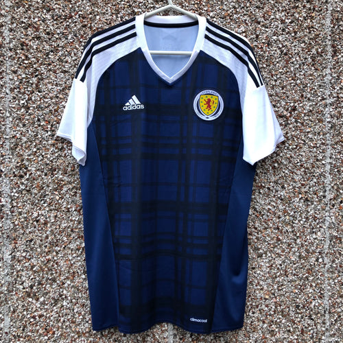 2016 2017 Scotland home Football Shirt - L