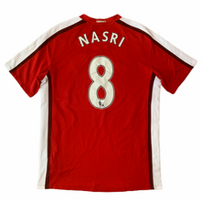 2008 10 ARSENAL HOME FOOTBALL SHIRT #8 NASRI - M