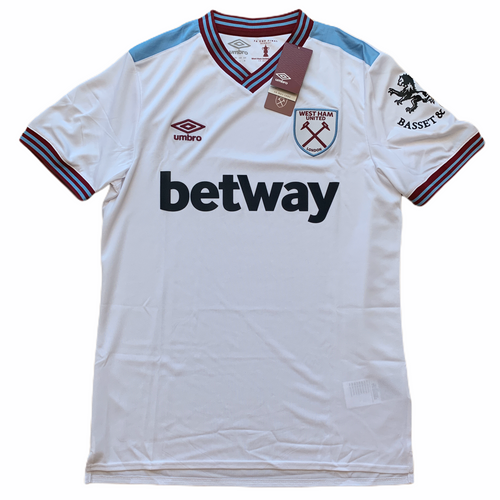 2019-20 WEST HAM AWAY FOOTBALL SHIRT *BNWT* - M