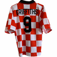1998 1999 Leyton Orient home football shirt GRIFFITHS #9 - S