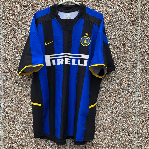 2002 2003 Inter Milan home football shirt - L