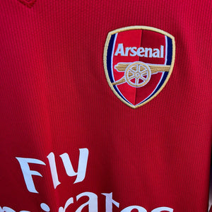2008 2010 Arsenal Home Football Shirt - XL