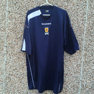 2005 2006 Scotland home Football Shirt - XXL