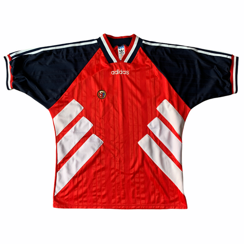 1994 96 NORWAY HOME FOOTBALL SHIRT - XL