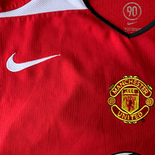 2004 05 MANCHESTER UNITED HOME FOOTBALL SHIRT - M