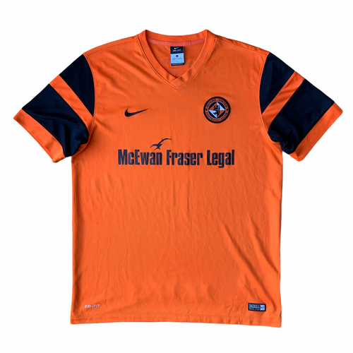 2016 17 DUNDEE UNITED HOME FOOTBALL SHIRT - L
