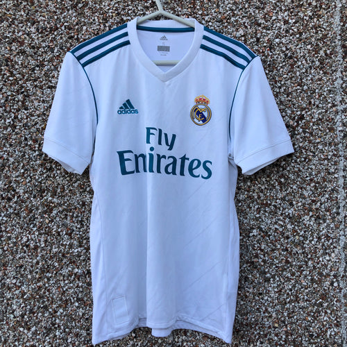 2017 2018 Real Madrid home football shirt - S