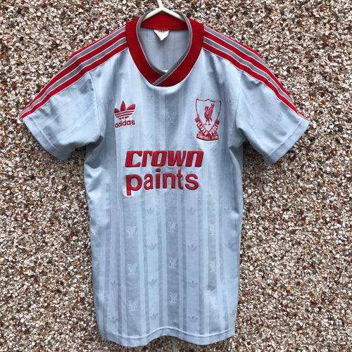 1987 1988 Liverpool away Football Shirt - Y