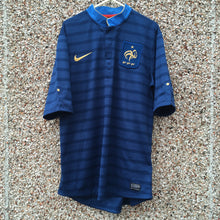 2012 2013 France home Football Shirt - M