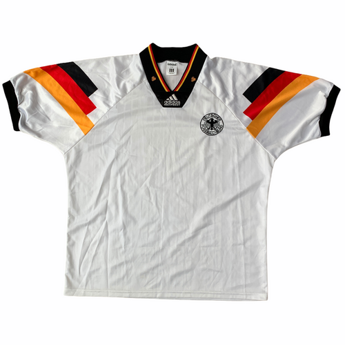 1992 94 GERMANY HOME FOOTBALL SHIRT - XL