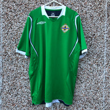 2008 2010 Northern Ireland home football shirt - L