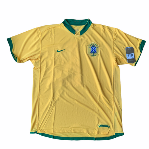 2006 08 BRAZIL HOME FOOTBALL SHIRT *BNIB* - XXL