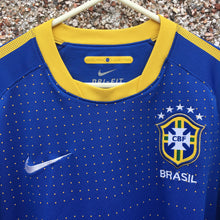 2010 2011 Brazil Away Football shirt - M