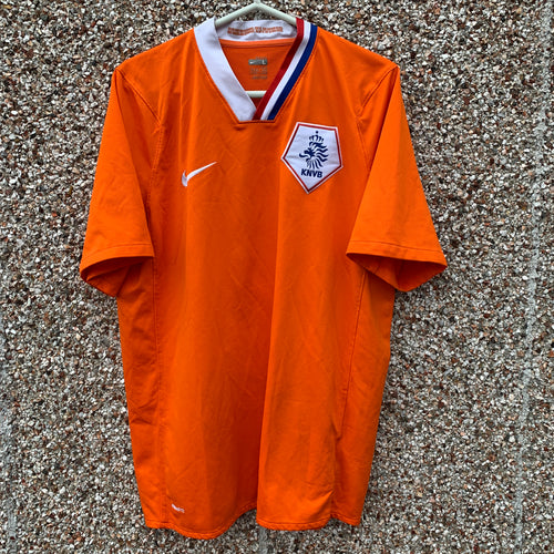 2008 2010 Holland home football shirt - L