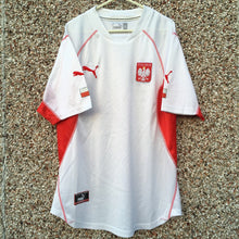 2002 2004 Poland home Football Shirt - XL