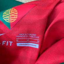 2014 15 PORTUGAL WOMENS HOME FOOTBALL SHIRT - M