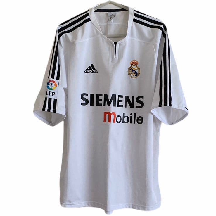2003 2004 Real Madrid home Football Shirt - L