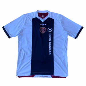 2008 09 HEART OF MIDLOTHIAN AWAY FOOTBALL SHIRT - XL