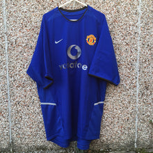 2002 2003 Manchester United Third Football Shirt - XL