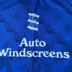 1995 96 BIRMINGHAM CITY HOME FOOTBALL SHIRT - S