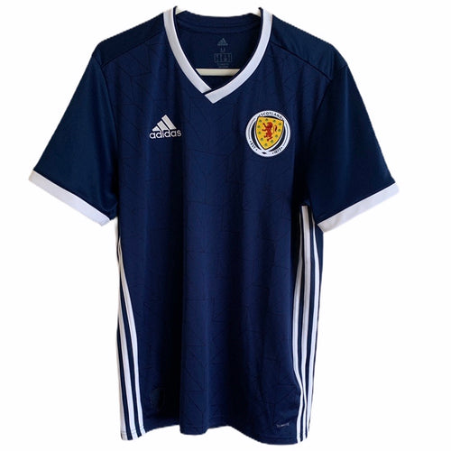 2018 2019 SCOTLAND HOME FOOTBALL SHIRT - M