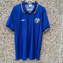 1986 1990 Italy home Football Shirt - S / M