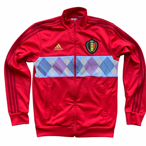 2018 BELGIUM FOOTBALL TRACK JACKET - M