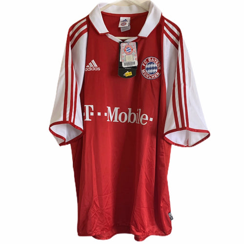 2003 2004 BAYERN MUNICH HOME FOOTBALL SHIRT BNWT - L
