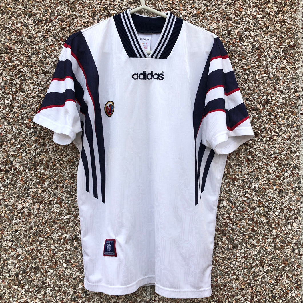 1996 1997 Norway away football shirt - S