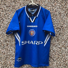 1996 1997 MANCHESTER UNITED THIRD FOOTBALL SHIRT - Kids