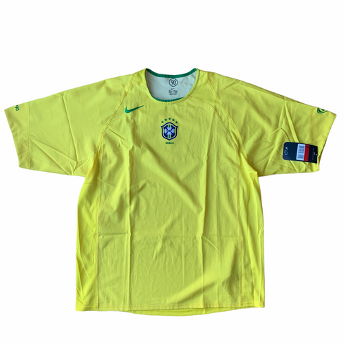2004 BRAZIL TOTAL 90 TRAINING SHIRT *BNWT*