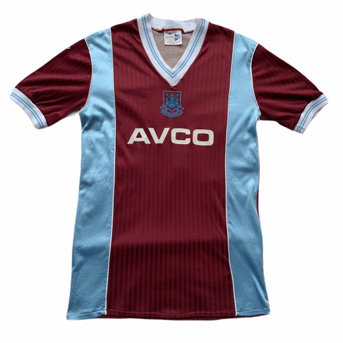 1987 89 WEST HAM UNITED HOME SHIRT - L