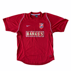 2005 06 WALSALL HOME FOOTBALL SHIRT - S