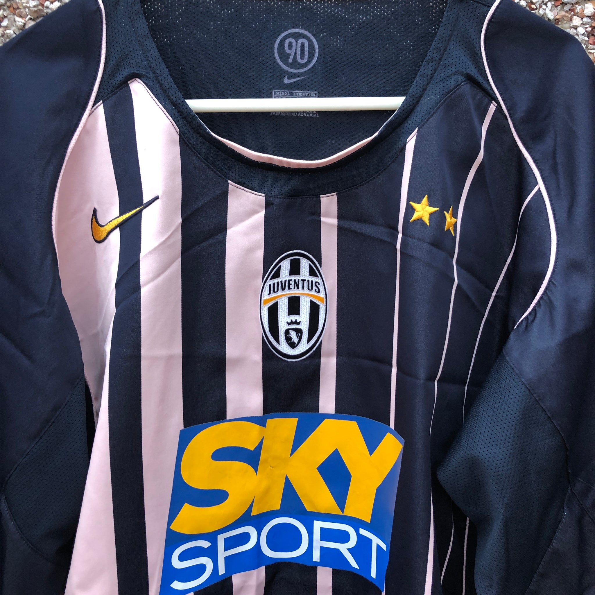 premium selection 878fe e818e 2004 2005 Juventus away football shirt - XL