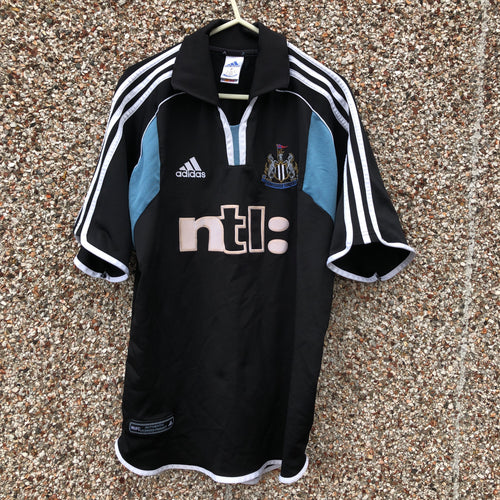 2000 2001 Newcastle United away football shirt - L