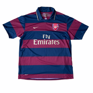 2007 08 Arsenal third football shirt - L