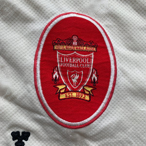 1996 97 LIVERPOOL AWAY FOOTBALL SHIRT - XL