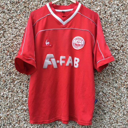 2002 2004 Aberdeen home Football Shirt - S