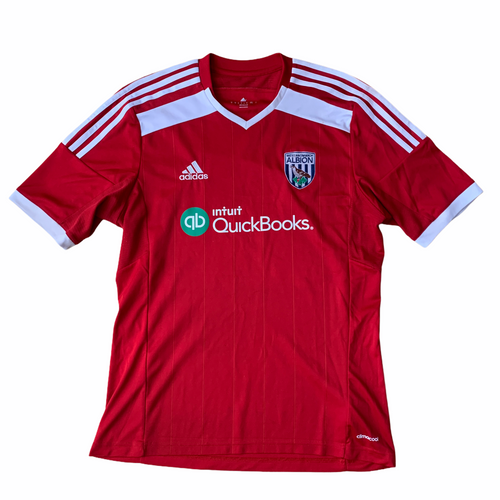 2014 15 WEST BROM AWAY FOOTBALL SHIRT - M