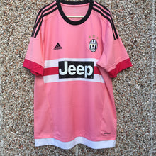 2015 2016 Juventus Away Football Shirt Pink Drake - L