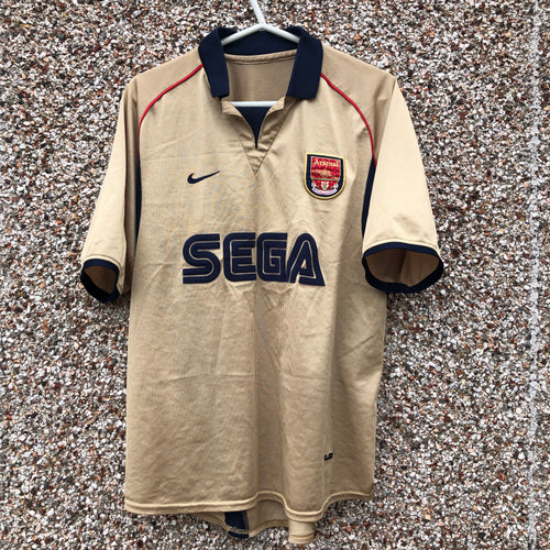 2001 2002 Arsenal Away Football Shirt - S