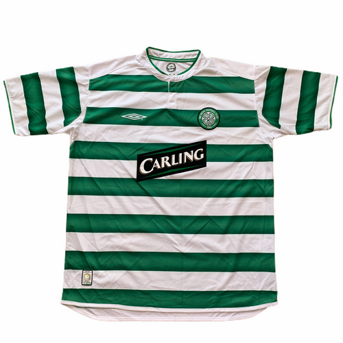 2003 04 CELTIC HOME FOOTBALL SHIRT - XL