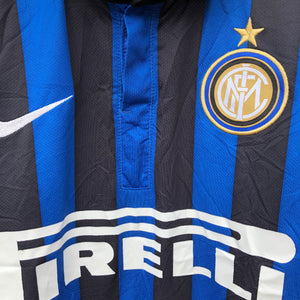 2011 2012 Inter Milan home football shirt - S