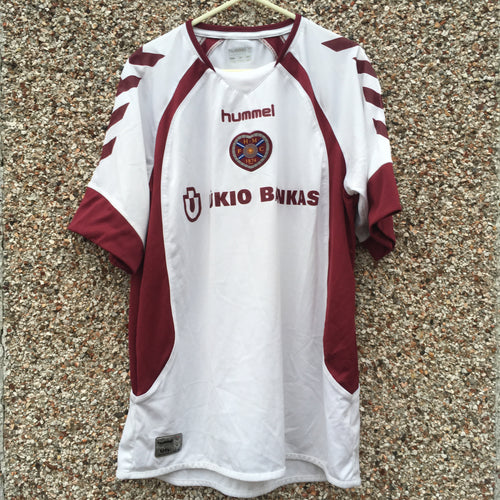 2006 2007 Heart of Midlothian away Football Shirt - L