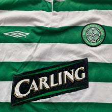 2003 04 CELTIC LS HOME FOOTBALL SHIRT #9 - XL
