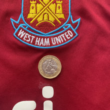 2013 14 WEST HAM UNITED HOME FOOTBALL SHIRT - M