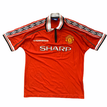 1998 00 MANCHESTER UNITED HOME FOOTBALL SHIRT - M