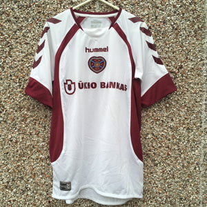 2006 2007 Heart of Midlothian away Football Shirt - S