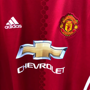 2016 2017 Manchester United home Football Shirt - S
